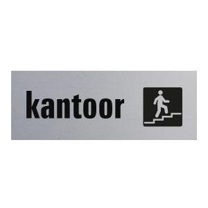 eurbordje kantoor met logo zelfklevend