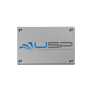 Aluminium Bedrijfsbord A5 21x14,8cm