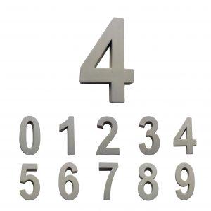 Huisnummers Beton 30cm