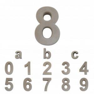 Huisnummers Beton 20cm