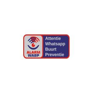 Aluminium RVS alarm whatsapp buurtpreventie