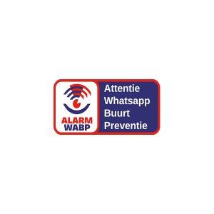 Aluminium wit alarm whatsapp