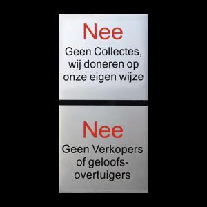 Aluminium NEE | NEE collectes 10x5cm